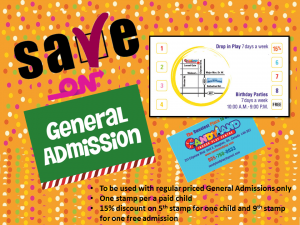 save on general admission